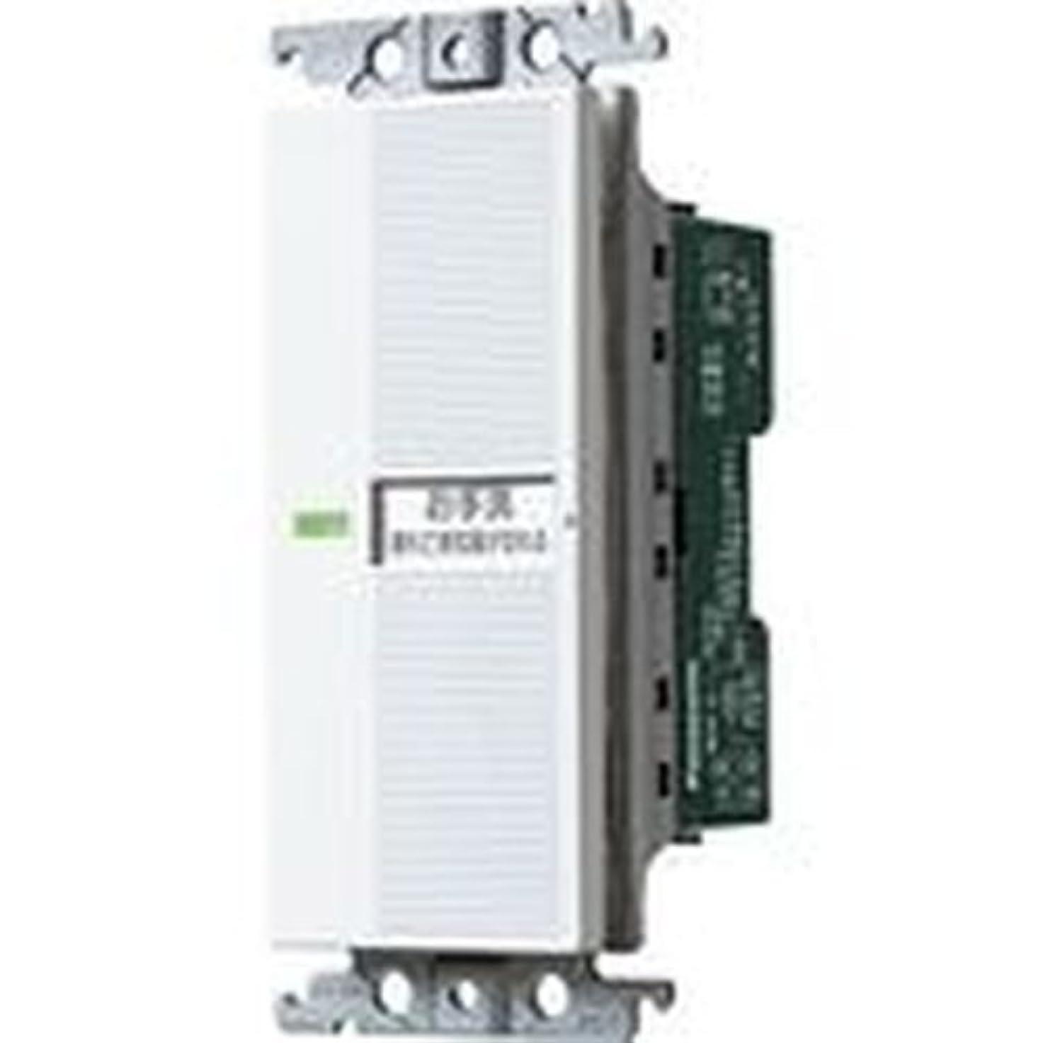 ロードされた学ぶ主要なパナソニック(Panasonic) 埋込電子トイレ換気スイッチ 照明?換気扇連動形 WTC5383W
