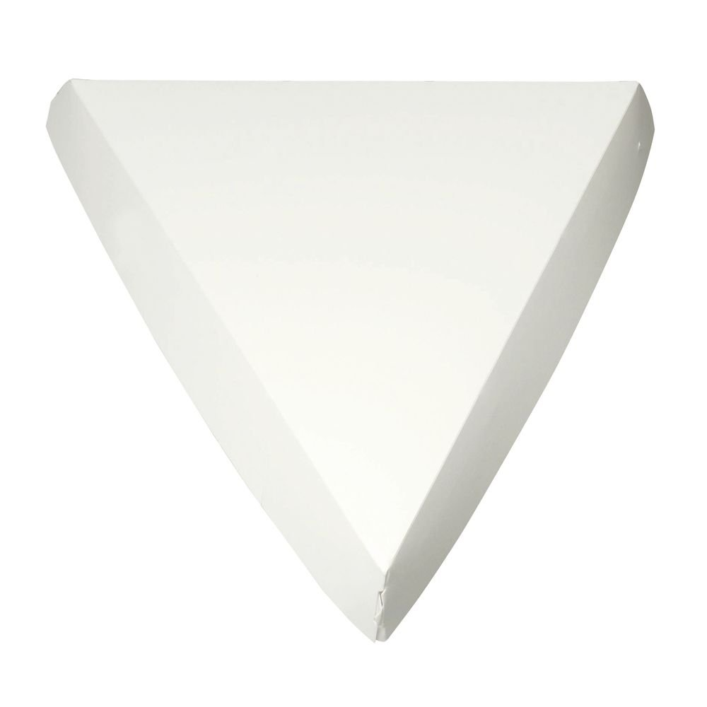 Single Slice Pizza Clamshell White - 9 Lowest price challenge 1 9