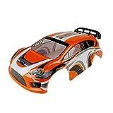Carcasa de PVC para coche de 1/10 con control remoto para VRX 1/10 Rally Car para RH1027 RH1028 RH1029 RH1030 RC Car Set