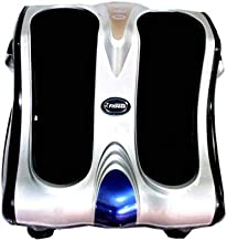 Fitness World, Foot Massager, Black And Silver