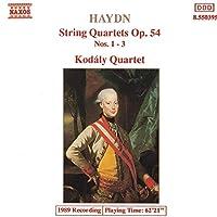 Haydn;String Qrts.Op.54 1