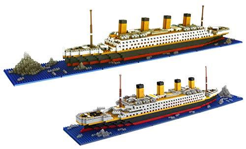 dOvOb Micro Mini Blocks Titanic Model Building Set...