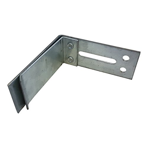 UA Boden Anschlusswinkel 50mm / 10 Stück für Bodenanschluss von UA- Ständerwerkprofil Aussteifungsprofil Anschlagwinkel Trockenbau Winkelprofil