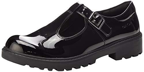 Geox J Casey Girl, Zapato Uniforme Escolar Niñas