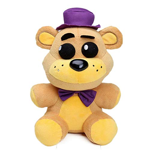 FNAF Toy Freddy Plushie Fazbear 25cm Toys Five Night at Freddy Golden Bear Nightmare Cupcake Foxy Balloon Boy Clown Stuffed Dolls FNAF Plushies