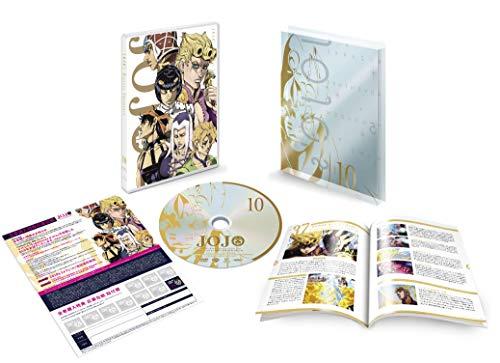 ジョジョの奇妙な冒険 黄金の風 Vol.10 (37~39話/初回仕様版) [DVD]