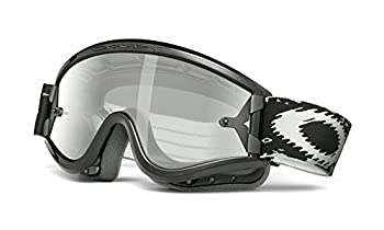 Oakley L-Frame with Clear Lens included MX Goggles,L Frame Frame/Grey & Clear AF Lens,one size