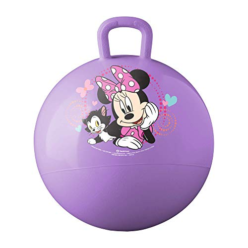 Hedstrom Minnie Mouse Happy Helpers Hopper Ball, Hop Ball for Kids, 15 Inch (New for 2020)