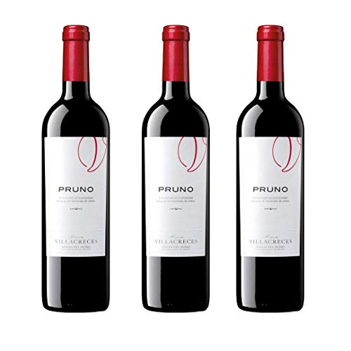 Pruno Vino Tinto - 3 botellas x 750ml - total: 2250 ml