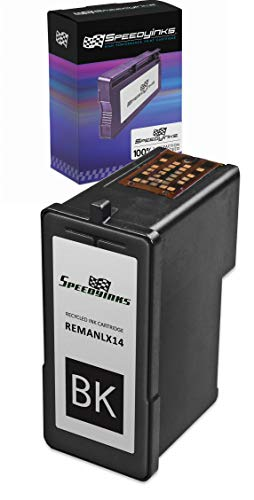 Speedy Inks Remanufactured Ink Cartridge Replacement for Lexmark #14 (Black)