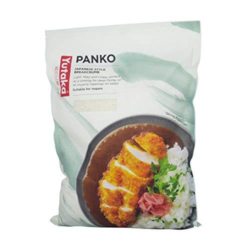 Pan rallado estilo panko japonés, apto para vegetarianos, paquete de 1 kg