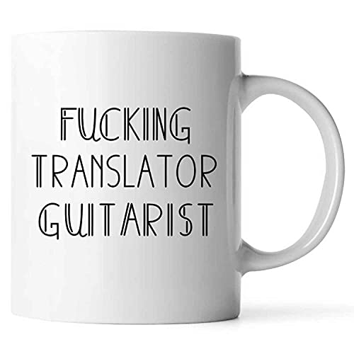 Fucking Great TRANSLATOR Job Lover Humorous Pride Graduation For Friends Coworkers Collegues Family Men Women H50252-140 Present For Birthday, Anniversary, National Grandparents Day 11 Oz White Coffee