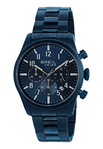 Armbanduhr BREIL fur Mann Classic Elegance mit uhrarmband aus Stahl, Werk Chrono QUARZUHR