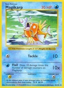 Pokemon - Magikarp (35/102) - Base Set