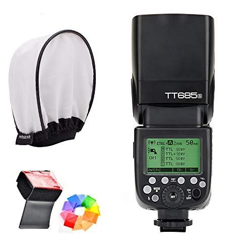 Godox TT685S HSS 1/8000S GN60 TTL Flash Speedlite 0.1-2.s Recycle Time 230 Full Power