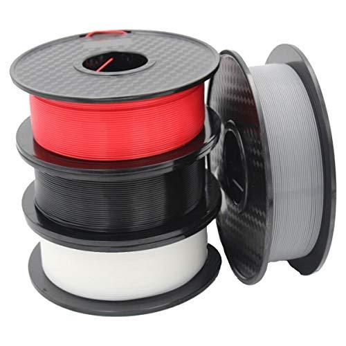 QDTD Matériau Composite Filament Impression 3D PLA-F Filament, 1.75mm PLA-F Filament, Approprié for Imprimante 3D, 4 Kg
