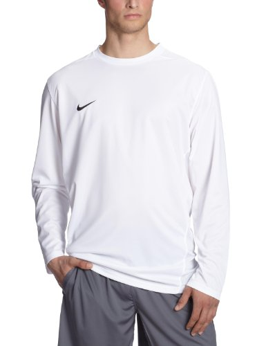 NIKE Herren Langärmliges Trikot Park IV Game, white/black, XL, 329363