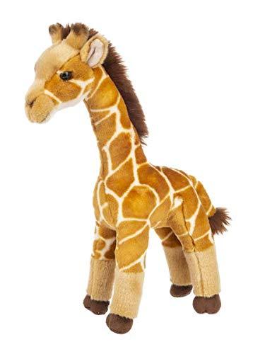 Wildlife Tree Standing 16 Inch Giraffe Stuffed Animal Floppy Plush Kingdom Collection