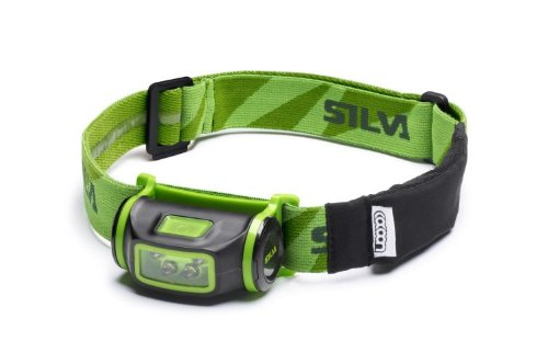 Silva Schneider Otus - Linterna (Linterna con Cinta para Cabeza, Negro, Verde, IPX7, LED, 4 lámpara(s), 35 LM)