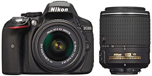 Nikon デジタル一眼レフカメラ D5300 ダブルズームキット2 ブラック