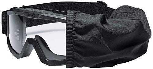 Uvex 9310265 Jagd-Überbrille - Schlagfest & Taktisch - mit 3 Wechselscheiben