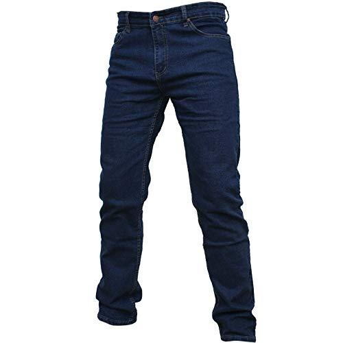 shop casillo Jeans Uomo Regular Fit Elastico Gamba Dritta 46 48 50 52 54 56 58 (58)