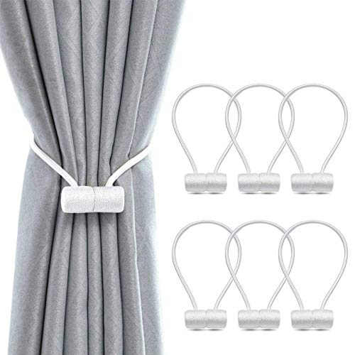 (30% OFF) 6 Pack Magnetic Curtain Tiebacks $13.99 – Coupon Code