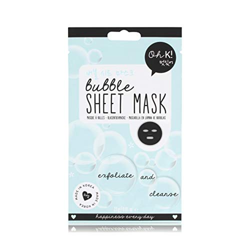 Oh K! Sheet Face Mask Bubble Exfoliate And Cleanse - 20 Ml