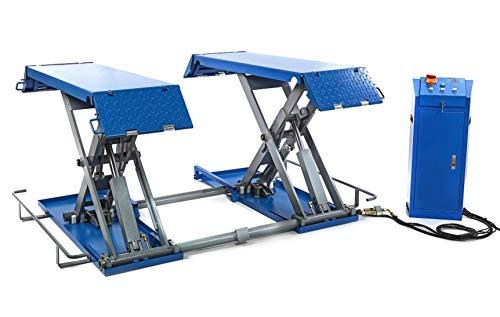 3T Auto Scherenhebebühne KFZ Hebebühne 3 Tonnen 230V oder 400V - HBM Profi Werkstattausrüstung by Tools.de (Scherenhebebühne 3t)