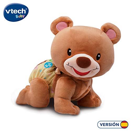 VTech-80-181122 Osito gateos electrónico Interactivo, Color marrón (3480-181122)