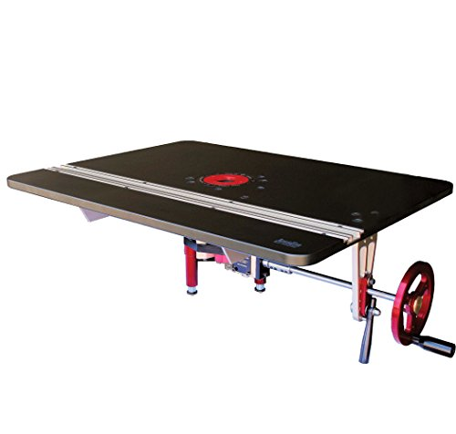 JessEm 02202 Mast-R-Lift Excel II Router Table Top with Integral Router Lift