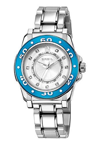 Reloj Breil colección MANTALITE Solo Tiempo Movimiento - Brazalete de Cuarzo y Aluminio 3h para Mujer ES One Size