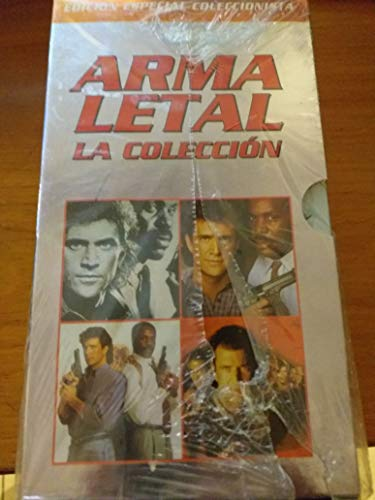 ARMA LETAL EDICION ESPECIAL COLECCIONISTA-1-2-3-4 VHS