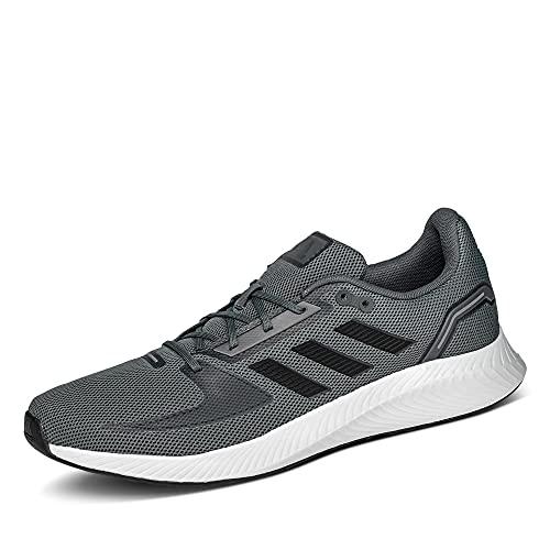 adidas Runfalcon 2.0, Road Running Shoe Hombre, Grey/Core Black/Grey, 42 EU