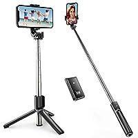 ⚙️ [Alles in einem Selfie-Stick] Der ATUMTEK Selfie-Stick und Dreifuß-Ständer sind zusammen integriert und mit einer erstklassigen erweiterbaren Legierungsstange verbunden. Der Selfie-Stick ist außerordentlich stabil. Der ausdehnbare Stab ist mit gut...