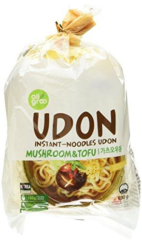 Allgroo U-Dong Nudeln, Tofu und Pilze, 1er Pack (1 x 690 g)