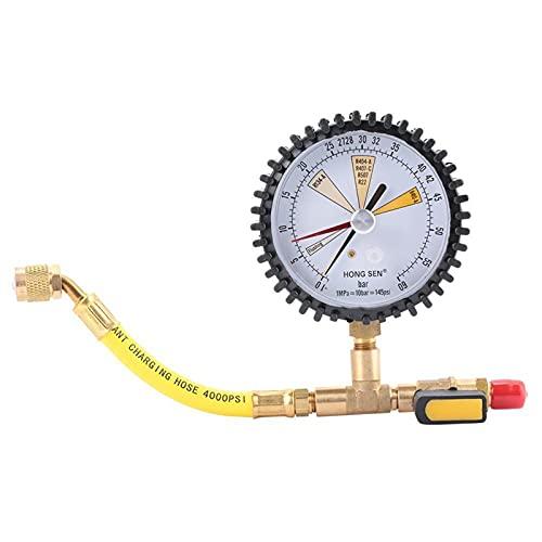 Detector de fugas de gas Aire acondicionado Refrigeración Presión de nitrógeno Prueba de prueba Tabla de prueba de presión al por mayor por R134A R22 R407C R410A Detector de fugas de refrigerante