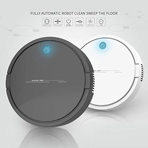 flowop Rechargeable Smart Robot Vacuum Cleaner Automatic Sweeping Mopping Machine Robotic Vacuums
