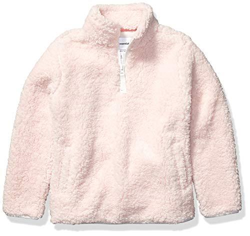 Amazon Essentials Quarter-Zip High-Pile Polar Fleece outerwear-jackets, hellrosa Farbe, 2T