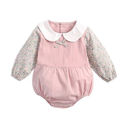 Bebé Body - Mono Niñas Mameluco Manga Larga para Bebé-Niños Trajes Baño Ropa de Verano Algodón Pelele