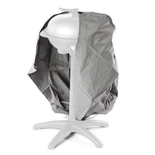 Ultranatura Gewebe-Schutzhülle Sylt für den Gartengrill, Grillschutzhülle, BBQ Abdeckhaube, Wetterschutzhülle für Gasgrill oder Smoker, BBQ-Abdeckung in rund, wasserdicht, 73 x 80 cm