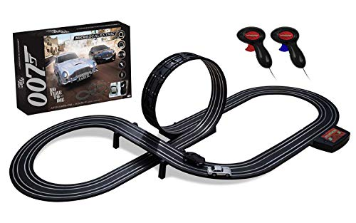 Micro Scalextric G1161 James Bond No Time To Die Battery Powered Race Set - Analogue