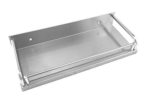 addys-onlinesale Edelstahl Küchenregal (Edelstahl Modell C, 50cm)