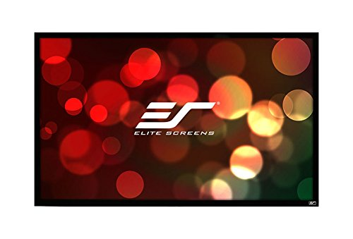 Elite Screens ezFrame Series, 135-inch Diagonal 16:9, Sound Transparent Perforated Weave AcousticPro1080P3 Fixed Frame Projection Screen, R135WH1-A1080P3