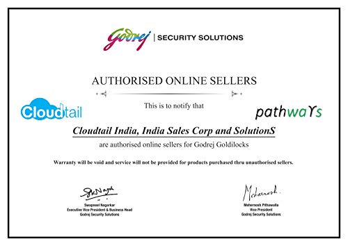 Godrej Security Solutions Goldilocks Personal Locker (White and Pink)