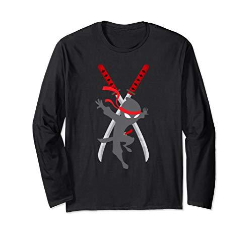 cwc Chad Wild ninja swords t shirt for clay kids gift