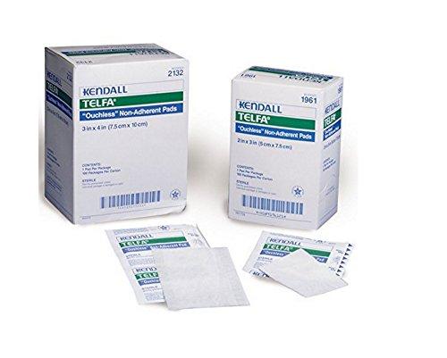 Covidien Kendall Telfa - disponible de funcionamiento diferentes de los tamaños de esterilizadas aderezos con un giro de