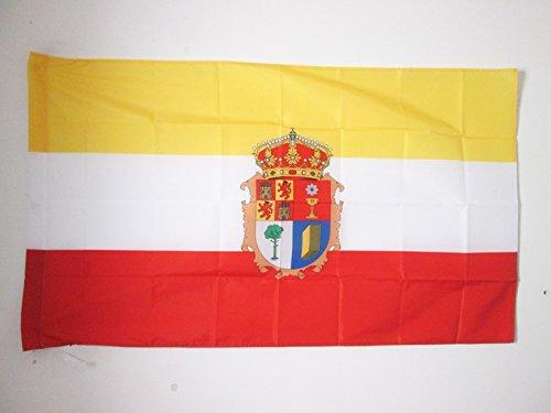 AZ FLAG Bandera de la Provincia DE Cuenca 150x90cm para Palo - Bandera Cuenca ENCastilla-LA Mancha 90 x 150 cm