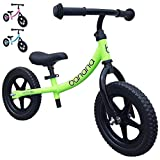 Banana LT Balance Bike - Lightweight for Toddlers, Kids - 2, 3, 4 Year Olds (Green)