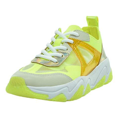 bugatti Damen 432846035069 Sneaker, Beige (Beige/Yellow 5250), 38 EU